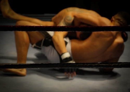 Grappling can render an opponent defenseless and vulnerable